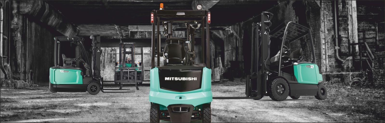 Mitsubishi Gabelstapler Senden
