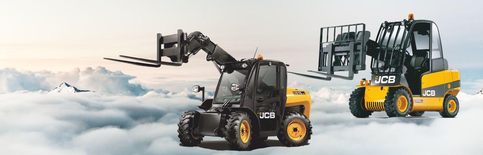 JCB Maschinen Degener Staplertechnik