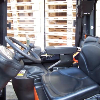 Fahrersitz Carer Elektrostapler