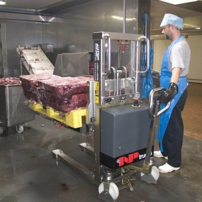 Logiflex INOX in der Fleischindustrie