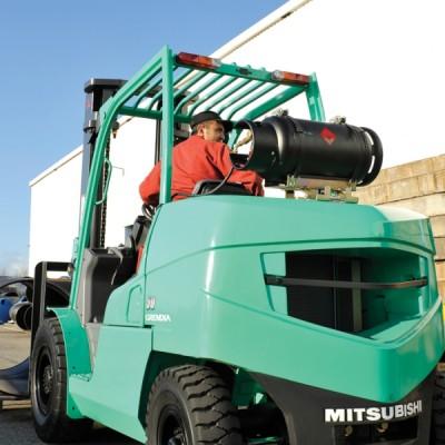 Treibgasstapler Mitsubishi